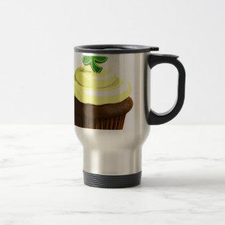 St. Patrick's Day cupcake Travel Mug