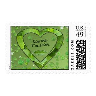 St. Patrick's Day Custom Postage