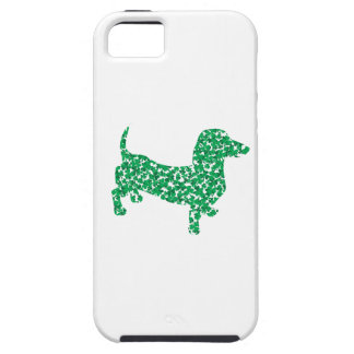 St. Patrick's Day Dachshund iPhone SE/5/5s Case