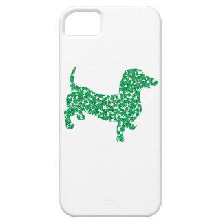 St. Patrick's Day Dachshund iPhone SE/5/5s Case