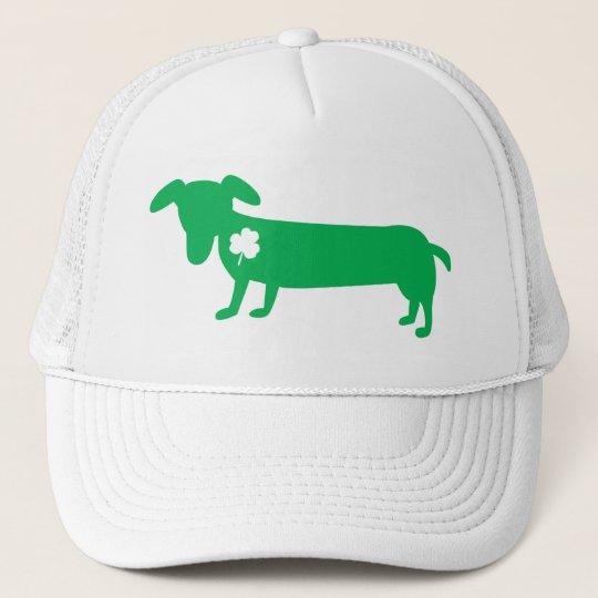 St. Patrick's Day Dachshund Trucker Hat