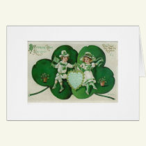 St. Patrick's Day Dance Card