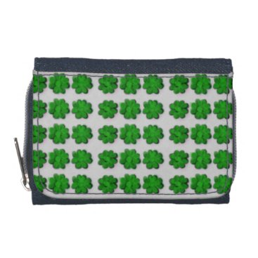 "Beach Themed ""St Patrick's Day"" Design Wallet"