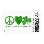 St. Patrick's Day Designs for Kids and Adults Stamp