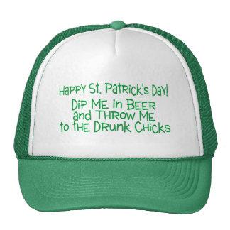 St Patricks Day Dip Me In Beer Trucker Hats