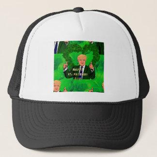 st patricks day donald trump trucker hat