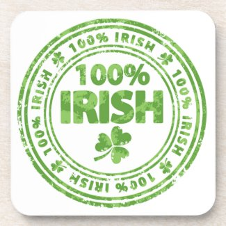 St. Patrick's Day Drink Coasters