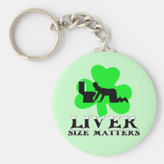 St Patrick's Day drinking Key Chain