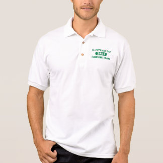 St. Patrick's day drinking team 2013 Polo T-shirt