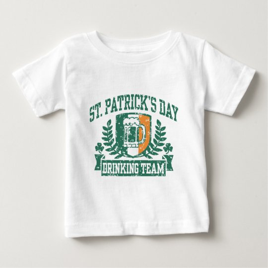 St. Patrick's Day Drinking Team Baby T-Shirt