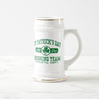 St. Patrick's Day Drinking Team Beer Stein