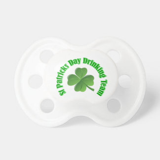 St Patrick's day drinking team BooginHead Pacifier