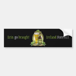 St. Patricks Day Drinking Team Car Bumper Sticker