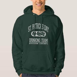 St. Patrick's Day Drinking Team - Distressed Hoodie