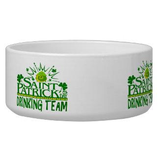 St Patricks Day Drinking Team. Irish Celebrations. Bowl