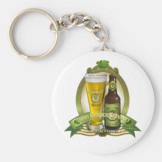 St. Patricks Day Drinking Team Keychain