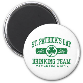 St. Patrick's Day Drinking Team Magnet