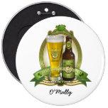 St. Patricks Day Drinking Team Pinback Button