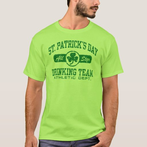 St. Patrick's Day Drinking Team T-Shirt