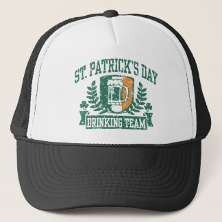 St. Patrick's Day Drinking Team Trucker Hat