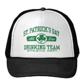 St. Patrick's Day Drinking Team Trucker Hat