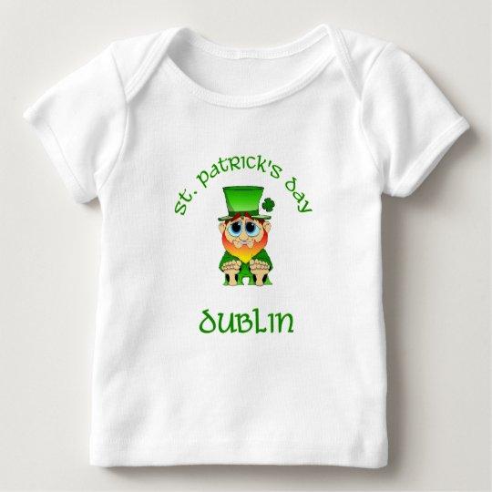 St Patricks Day ~ Dublin Baby T-Shirt