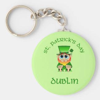 St Patricks Day ~ Dublin Keychain