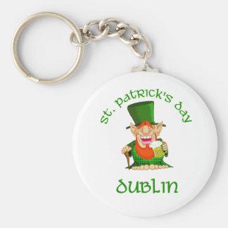 St Patrick's Day ~ Dublin Keychain