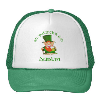St Patrick's Day ~ Dublin Trucker Hat