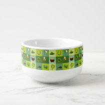 St. Patrick's Day Elements Soup Mug