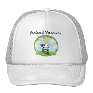 St Patrick's day - Erin go bahh Trucker Hat