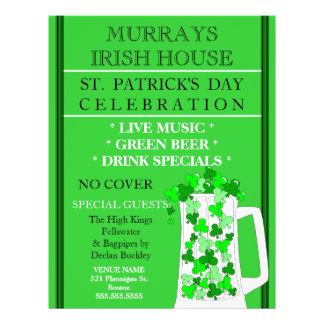St. Patrick's Day Event Celebration Flyer