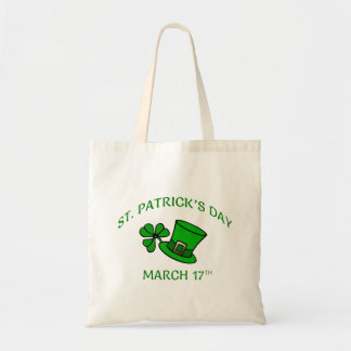 St. Patrick's Day Fabric Totes and Bags
