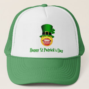 fd12d948120 St Patrick s Day Face Drinking Team Hat