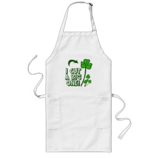 St Patrick's Day Farting Humor Long Apron