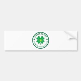 St. Patrick's Day - Feelin Lucky Car Bumper Sticker