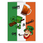 St. Patrick's Day- Flag Card