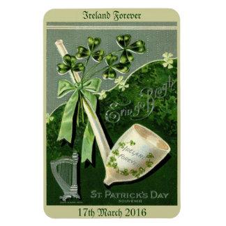 St Patrick's Day Flexible Magnet