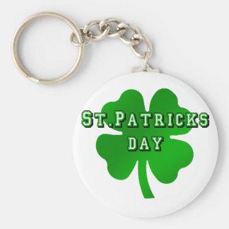 st patricks day for Irish Eire Ireland lovers Keychain