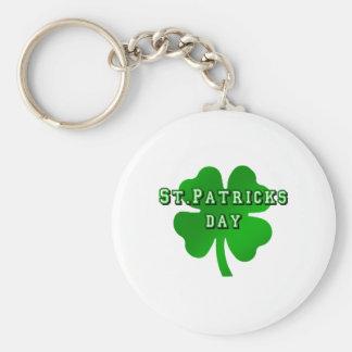 st patricks day for Irish Eire Ireland lovers Key Chains