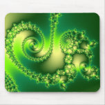 St. Patrick's Day Fractal Mouse Pads