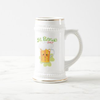 St. Patrick's Day Fresh Beer Mug