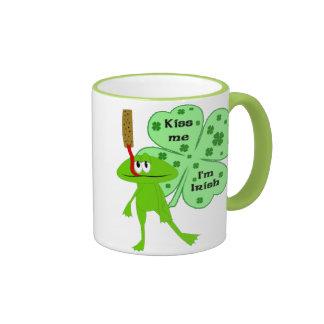 St. Patrick's Day Frog Mug