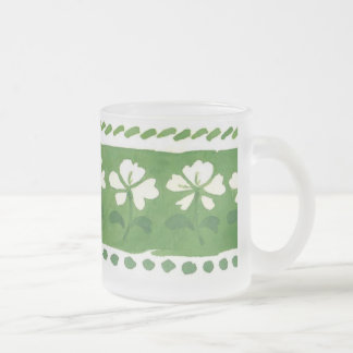 St Patrick's Day Frosted Mug