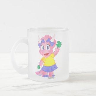 St. Patrick's Day Frosted Mug (Savannah Dino)