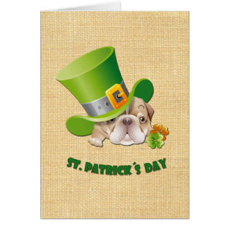 St. Patrick's Day Fun Customizable Greeting Cards