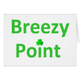 St. Patrick's day gear for Breezy Point Card