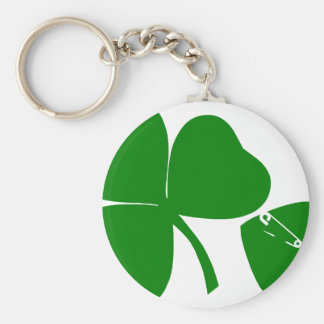 St Patrick's Day - Get Lucky 3 + 1 leaves = 4 Keychain