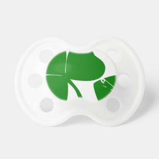 St Patrick's Day - Get Lucky 3 + 1 leaves = 4 Pacifier