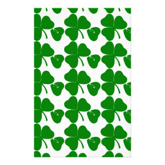 St Patrick's Day - Get Lucky 3 + 1 leaves = 4 Stationery